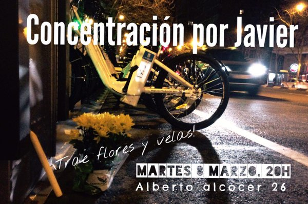 bicicletta madrid