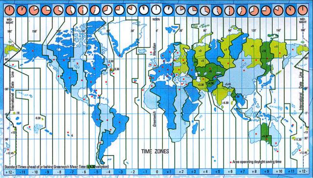 Cartina Fuso Orario Mondo.Che Ore Sono In Spagna Dati E Curiosita Sull Orario Spagnolo El Itagnol