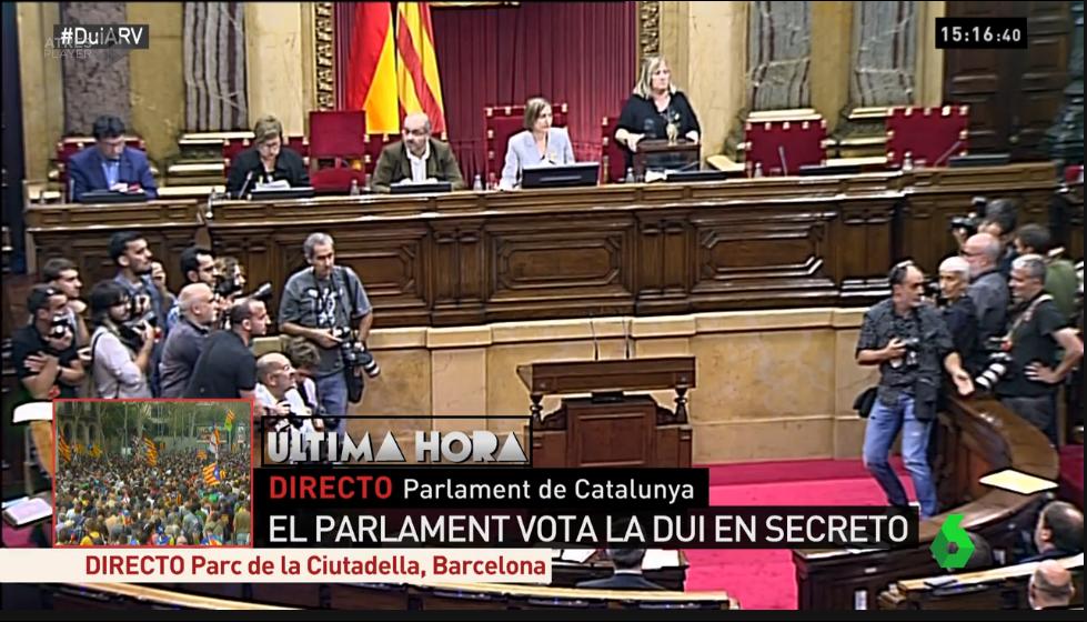 Spagna la situazione in catalogna gli ultimi for Diretta parlamento oggi