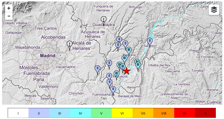 terremoto intensità