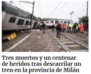 incidenti ferroviario