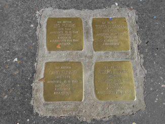 pietra inciampo roma