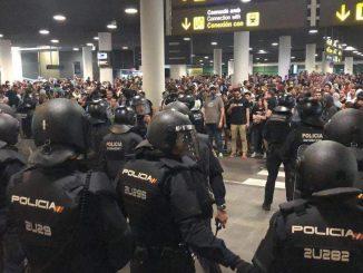 aeroporto barcellona 14 ottobre 2019