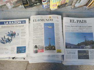 giornali esumazione franco