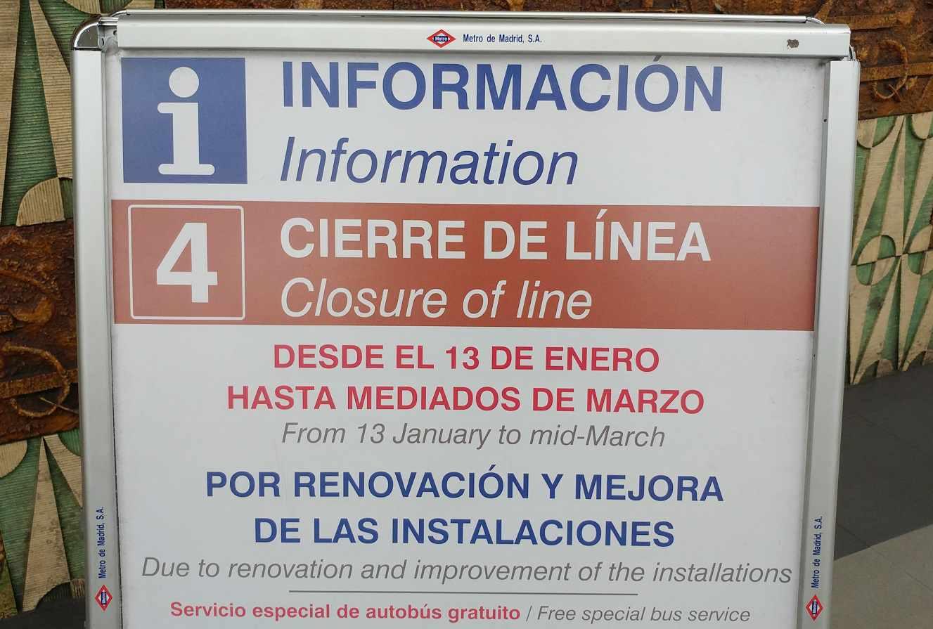 linea 4 metro madrid