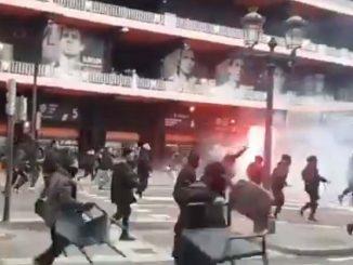 scontri valencia