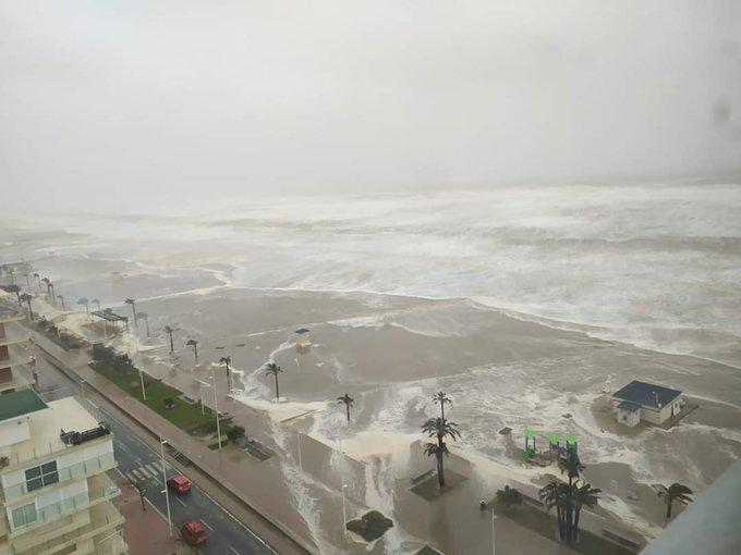 La tempesta Gloria fa 7 morti, allerta in Francia