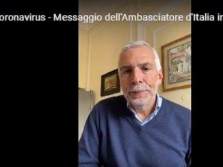 ambasciatore italia spagna messaggio video
