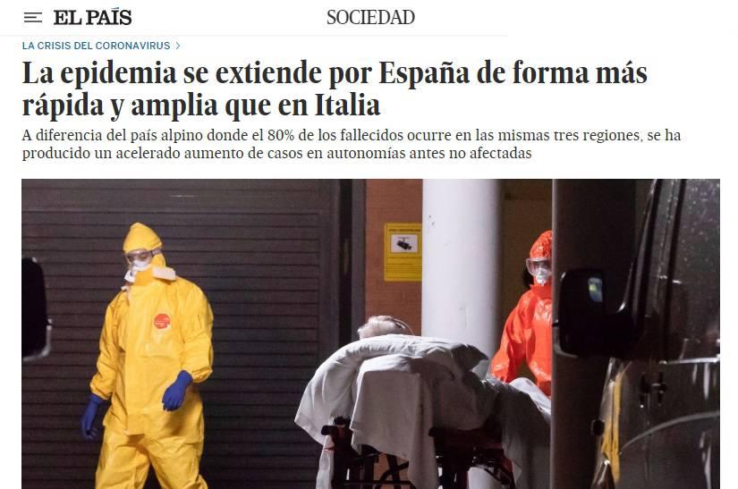 Coronavirus, la Spagna ha superato la Cina per numero di morti