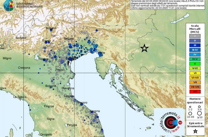 terremoto zagabria