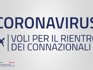 rientro voli speciali italia spagna