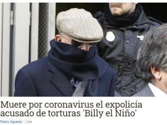 billy nino torturatore spagna franchista