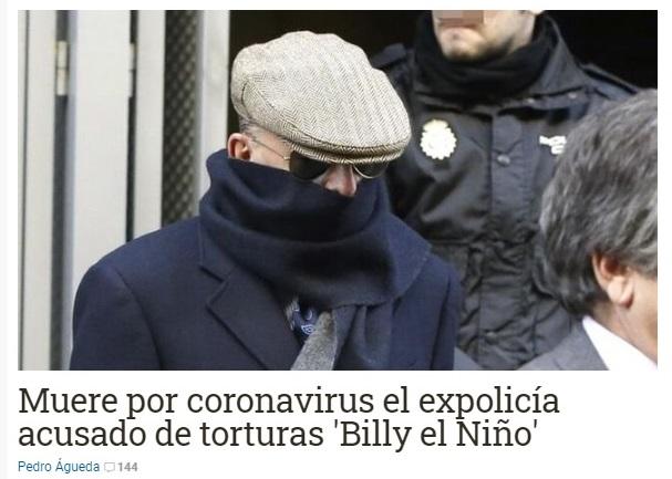 billy nino torturatore spagna franchista