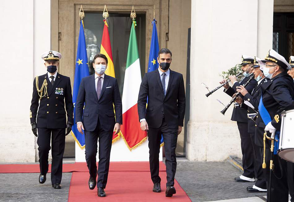 conte sanchez roma 20 ottobre 2020