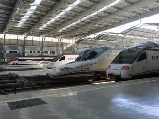 treno alta velocità spagna