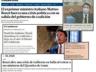 giornali italia spagna 14 gennaio 2021