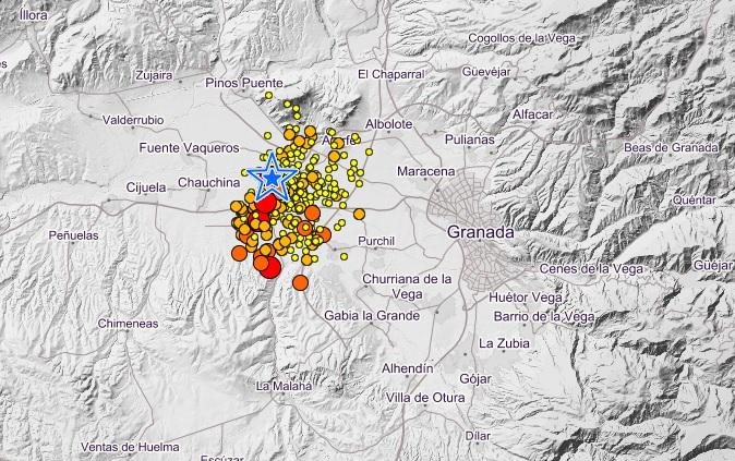 terremoto granada spagna gennaio 2021