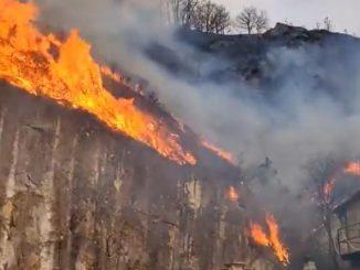 incendio spagna francia