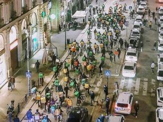 riders sciopero
