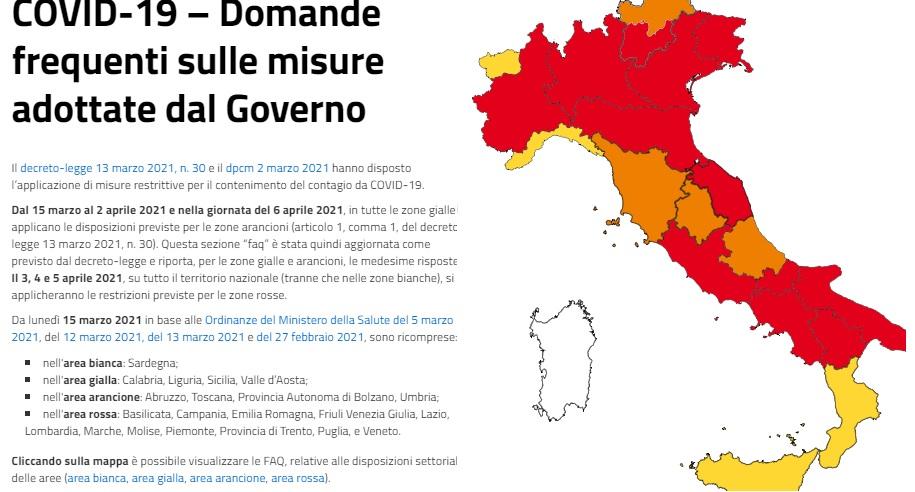 zona rossa italia