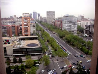 paseo castellana madrid