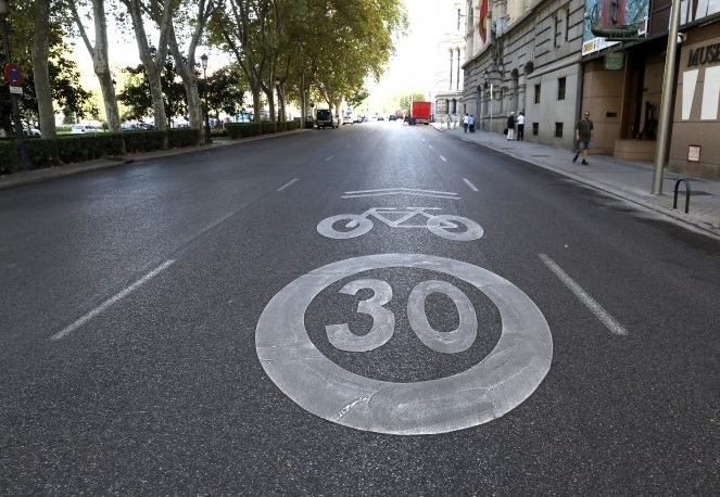 madrid 30 km/h