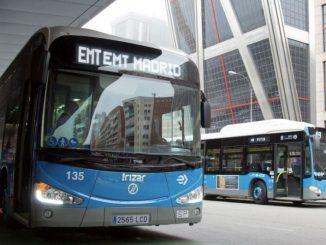 autobus madrid